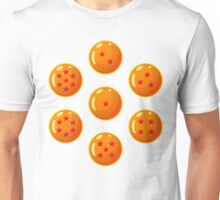 Dragon Ball / Dragonball Z / DBZ - All Dragonballs Unisex T-Shirt
