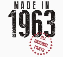 Made In 1963, All Original Parts by 4season