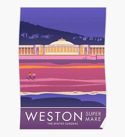 Weston super Mare, The Winter Gardens Poster