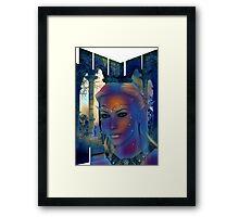 Slat Fantasia Framed Print
