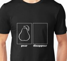 DisapPEAR Unisex T-Shirt