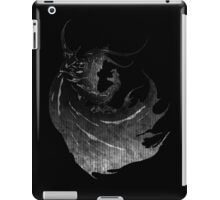 °FINAL FANTASY° Final Fantasy IV B&W Logo iPad Case/Skin
