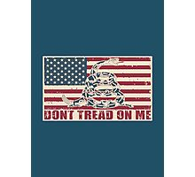Don't Tread On Me Photographic Print