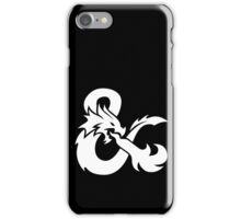 DND White Logo iPhone Case/Skin