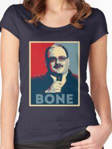Ken Bone For President Women's Fitted Scoop T-Shirt