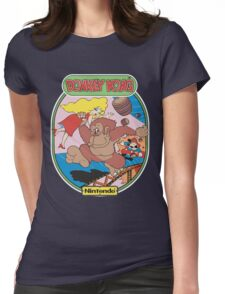 Donkey K Womens Fitted T-Shirt