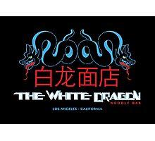 White Dragon - Noodle Bar (Mandarin Variant) Photographic Print