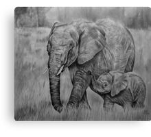 Tiny Trumpeter Canvas Print