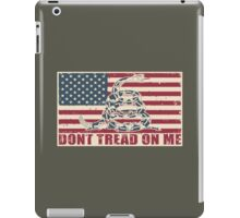 Don't Tread On Me iPad Case/Skin