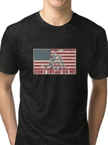 Don't Tread On Me Tri-blend T-Shirt