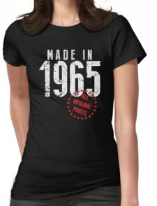 Made In 1965, All Original Parts Womens Fitted T-Shirt
