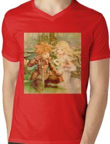 Love Legend Mens V-Neck T-Shirt