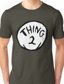 thing 2 - thing 1 and thing 2 Unisex T-Shirt