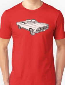 1966 Chevrolet Chevelle 283 Illustration T-Shirt