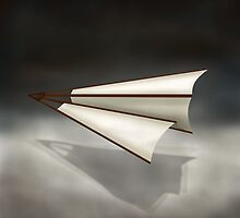 Paper Airplane 26 by YoPedro