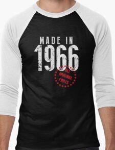 Made In 1966, All Original Parts Men's Baseball ¾ T-Shirt