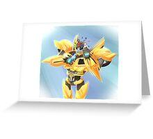 Bumblebee - Transformers Prime Greeting Card