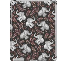 Laughing Baby Elephants – Coral iPad Case/Skin