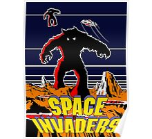 Invaders from space Poster