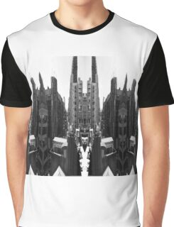 Buildings reflection  Graphic T-Shirt