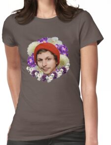 michael cera Womens Fitted T-Shirt