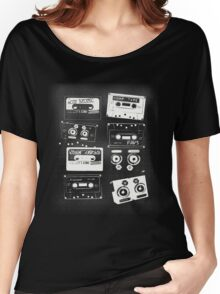 Retro Cassette Tapes Women's Relaxed Fit T-Shirt