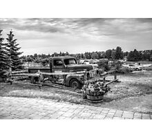 Antique Pickup Truck Photographic Print