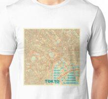 Tokyo Map Retro Unisex T-Shirt