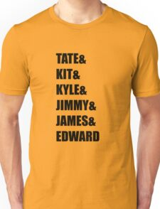 Evan Peters AHS Characters- BLACK Unisex T-Shirt