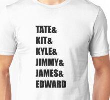 Evan Peters AHS Characters- BLACK Unisex T-Shirt