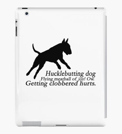 Bull Terrier Haiku iPad Case/Skin
