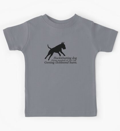 Bull Terrier Haiku Kids Tee