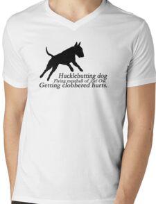 Bull Terrier Haiku Mens V-Neck T-Shirt