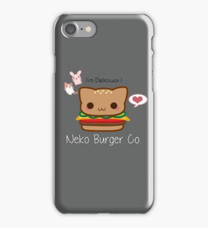 Neko Burger Company iPhone Case/Skin