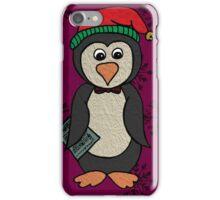 Percy Penguin Goes Carol Singing iPhone Case/Skin