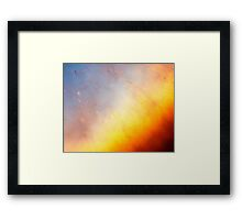 Helix Nebula Close Up Framed Print