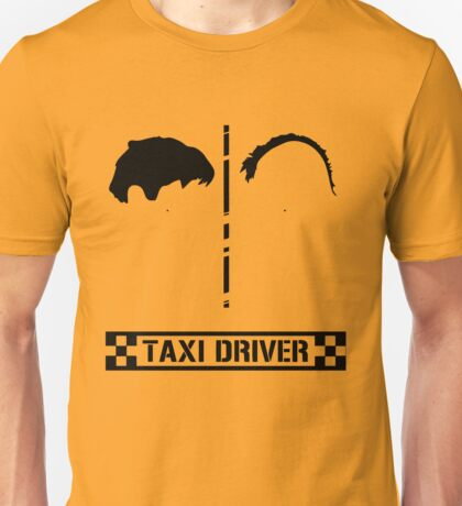 Taxi Driver Minimal Unisex T-Shirt