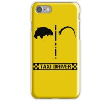 Taxi Driver Minimal iPhone Case/Skin