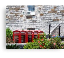 Telephone Booth   Canvas Print