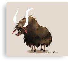 yakety yak Canvas Print
