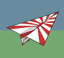 Paper Airplane 29 by YoPedro