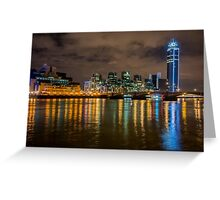 Vauxhall Bridge at Night Greeting Card