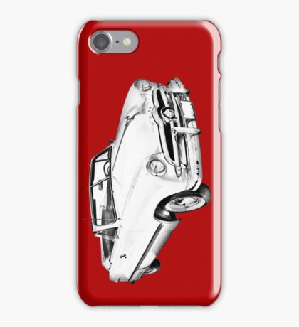 1949 Ford Custom Deluxe Convertible Illustration iPhone Case/Skin