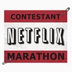 Netflix Marathon by Jamie Thew