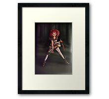 Astrid  The Demon Rogue Framed Print