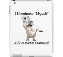 ALS Ice Bucket Challenge Bumble iPad Case/Skin