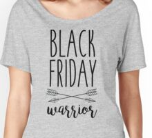 Black Friday Warrior Women's Relaxed Fit T-Shirt