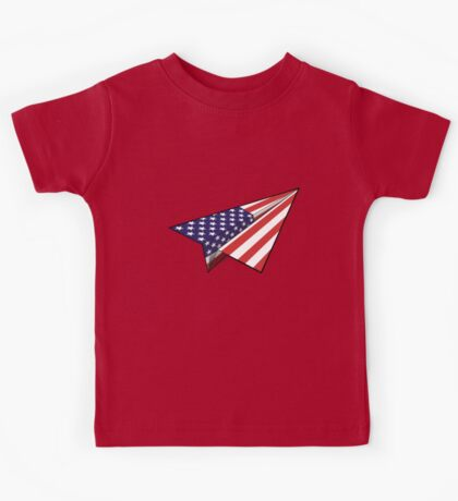 Paper Airplane 30 Kids Tee