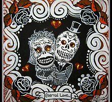 Eternal Love Skelly Couple 2 by MyrcurysToybox