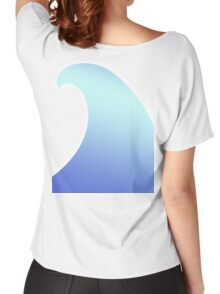 Ocean, Wave, Surf, Surfing, Tsunami, Water Women's Relaxed Fit T-Shirt